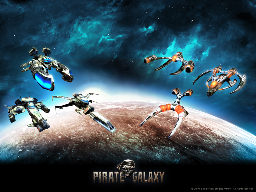 Pirate Galaxy - papel de parede 01