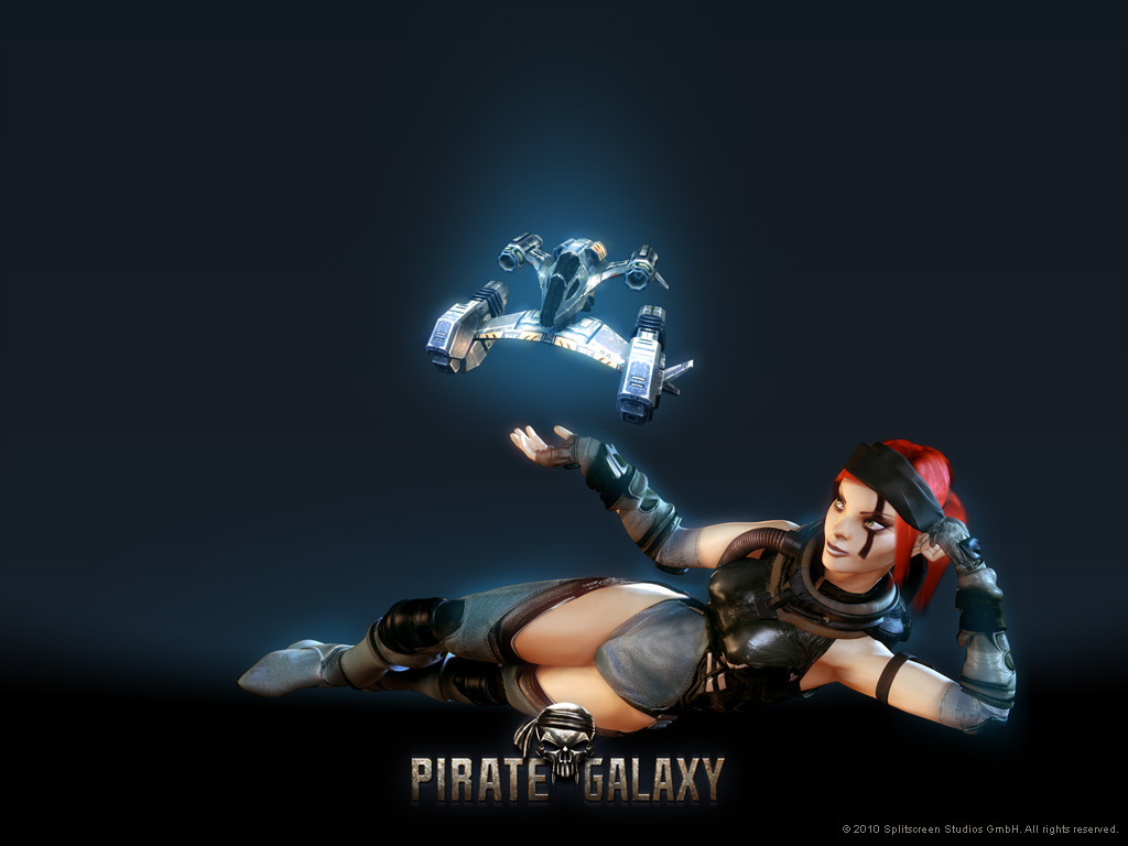 Pirate Galaxy - papel de parede 02