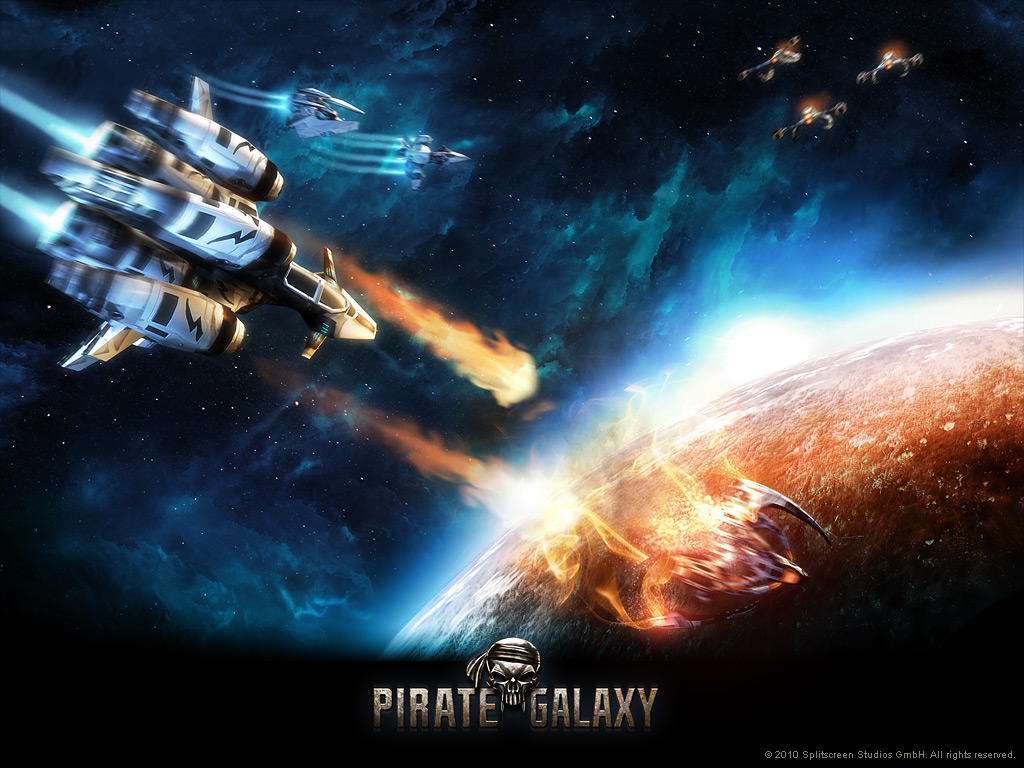 Pirate Galaxy - papel de parede 03