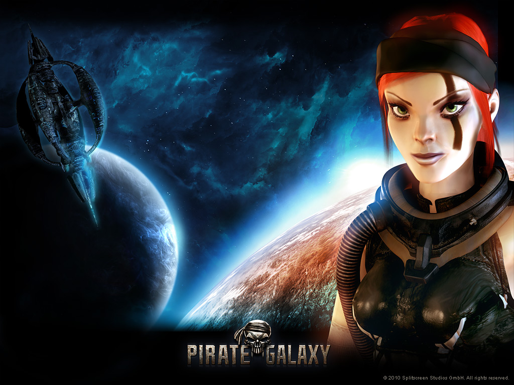 Pirate Galaxy - papel de parede 04