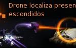Drone localiza presentes escondidos
