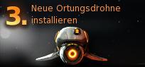 Pirate Galaxy - Neue Ortungsdrohne installieren