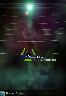 Pirate Galaxy - Planet Arkon on Starmap