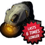 Now lasts 6 times longer!
